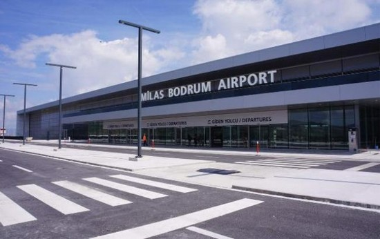 bodrum airport turkey